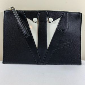 Handbags - Men's suit Clutch purse w/ Wristlet